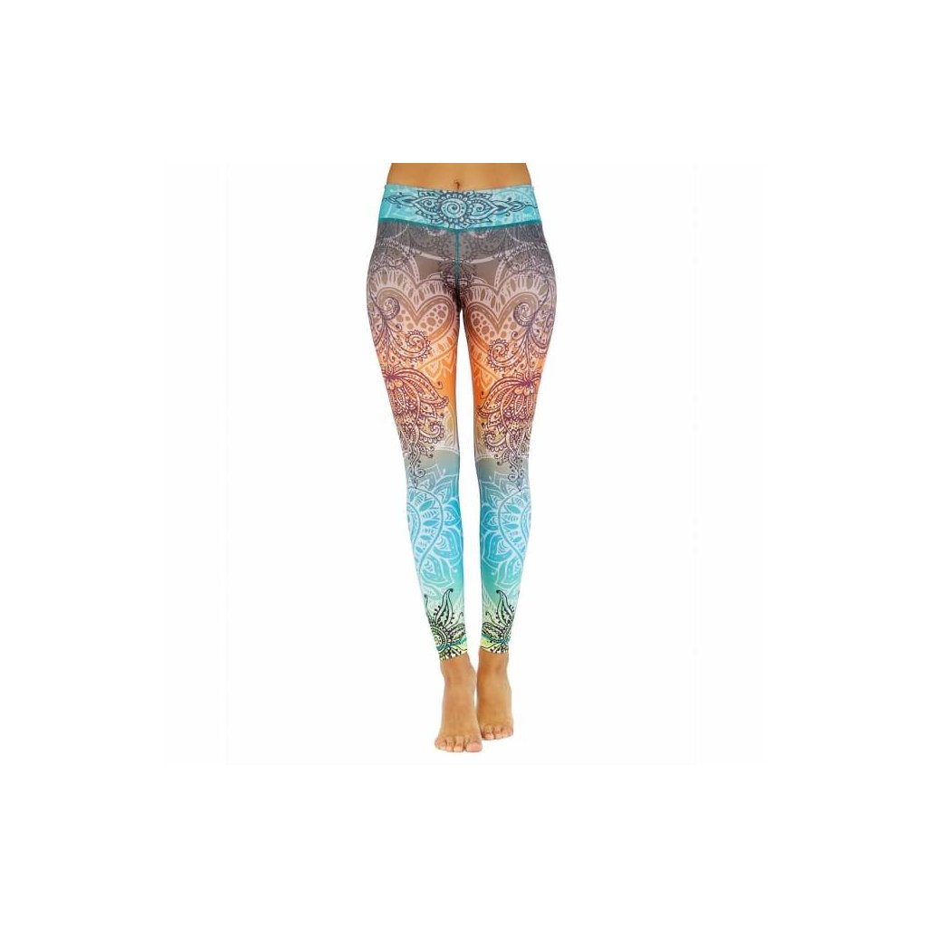 nlslx yoga niyama leggings yoga hose summer love front