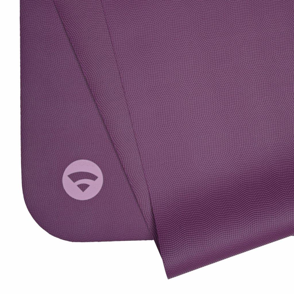 657v yoga naturkautschuk yogamatte ecopro travel violett gefalten2