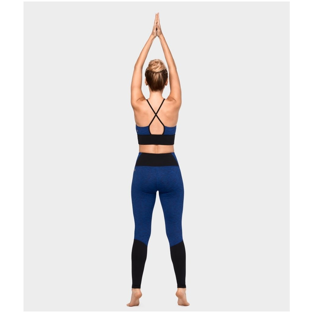 Manduka the High Line Legging New Moon Melange legíny  b185fb90bf