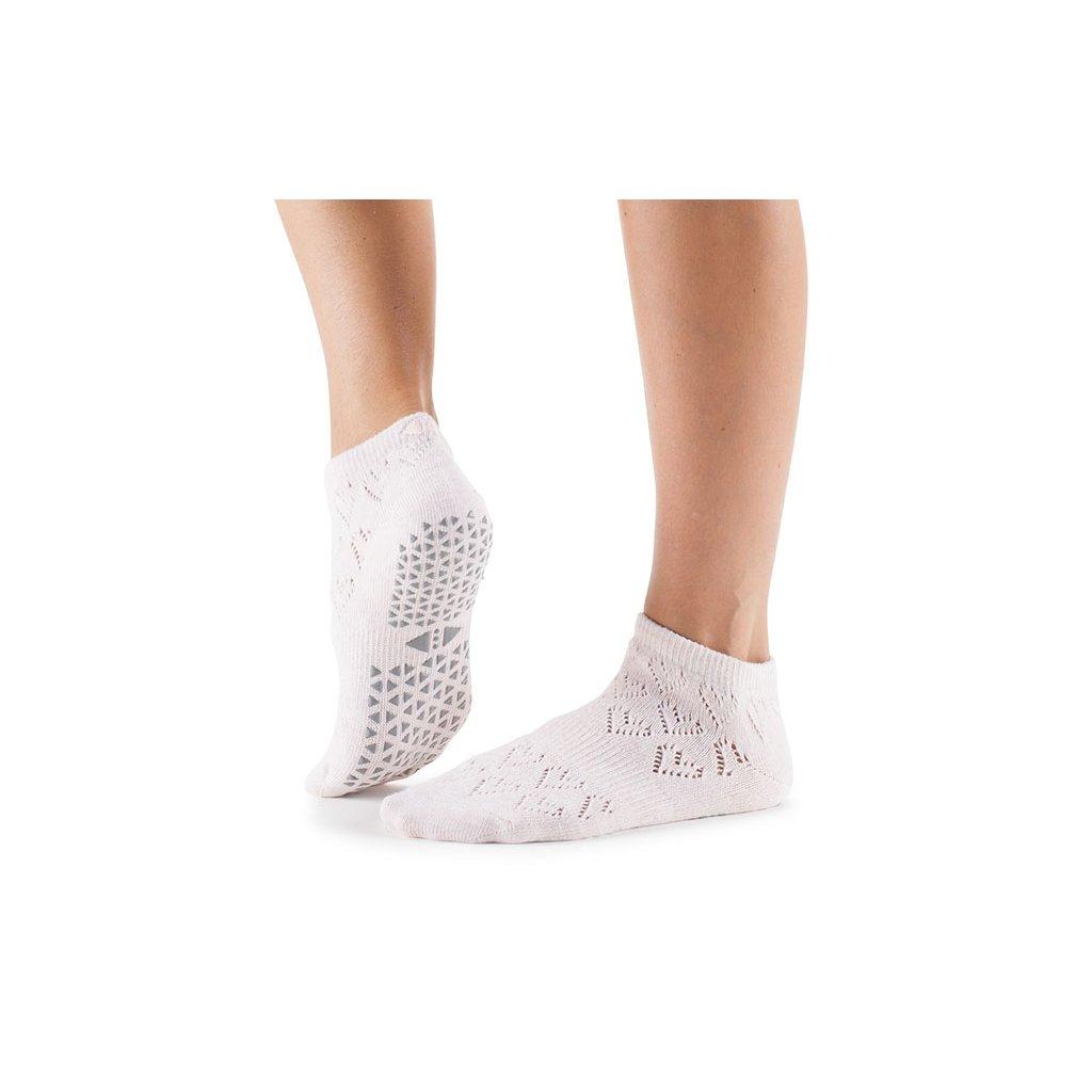 Tavi Noir Grip Socks Tavi Lily Grip (Love Tart) protišmykové ponožky  otvorené 3599827d9d