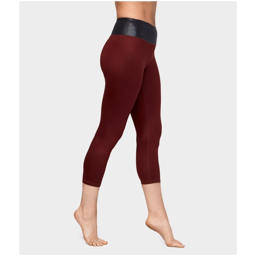 Manduka Essential Cropped Legging Ruby Sheen legíny