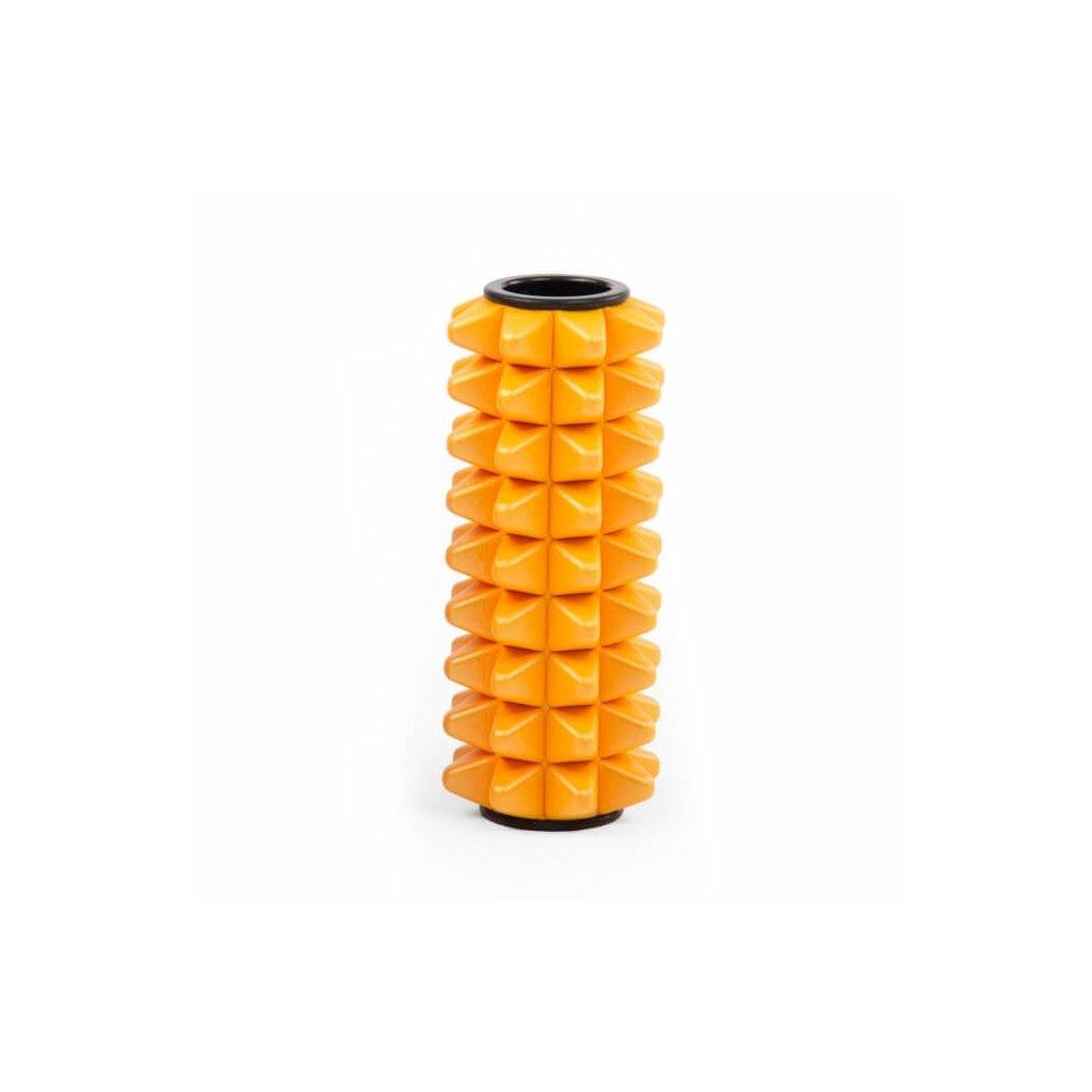 938sy pilates fitness faszienmassage mini faszienrolle spike safran (1)