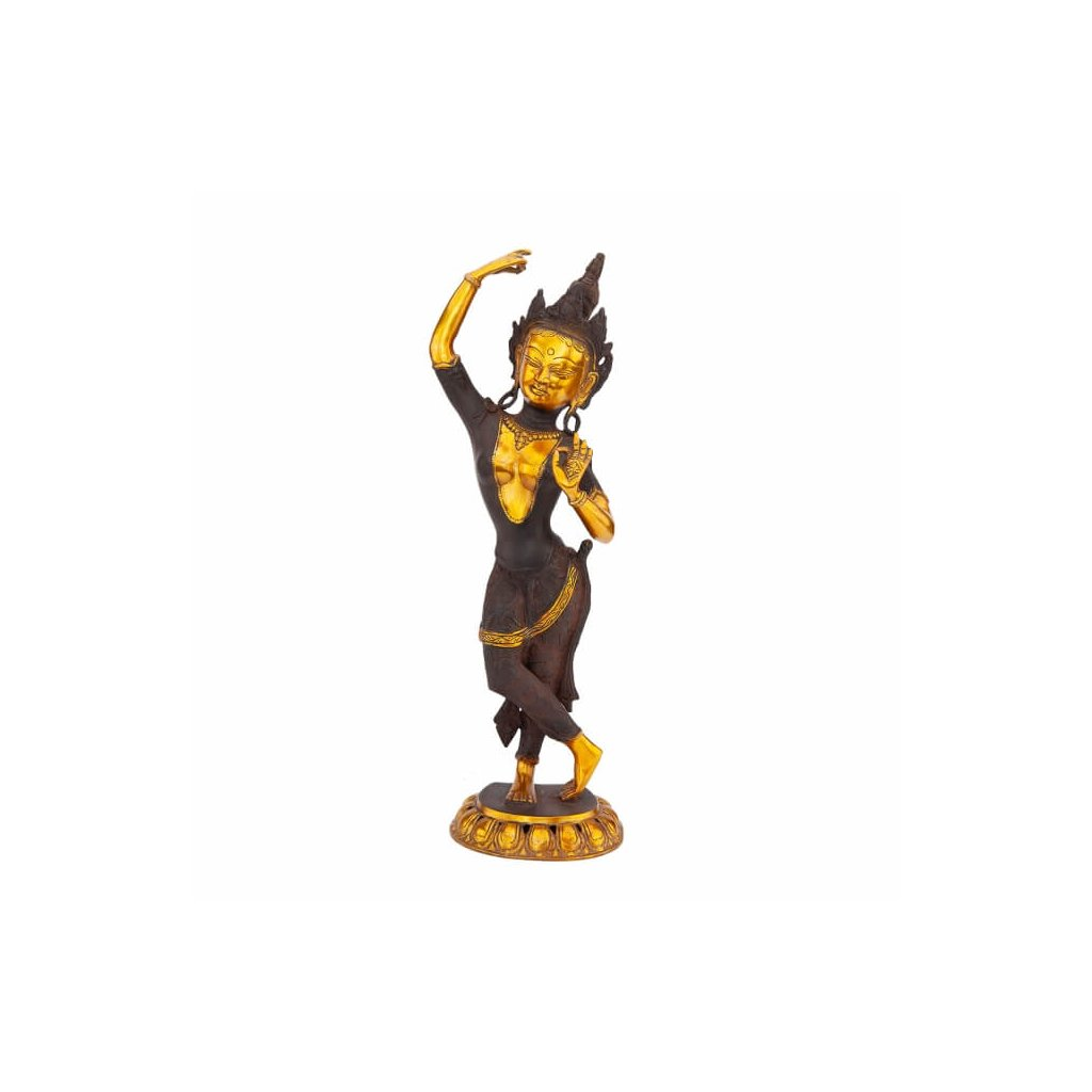 mah35 meditation zubehoer mahadevi statue frontal