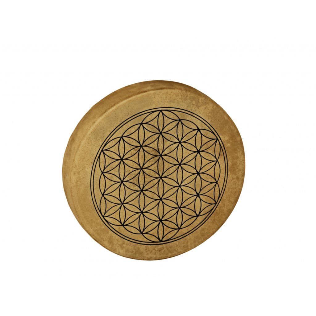 meinl native american style hoop drum 15 38 cm flower of life hod15 fol hod15 fol 0
