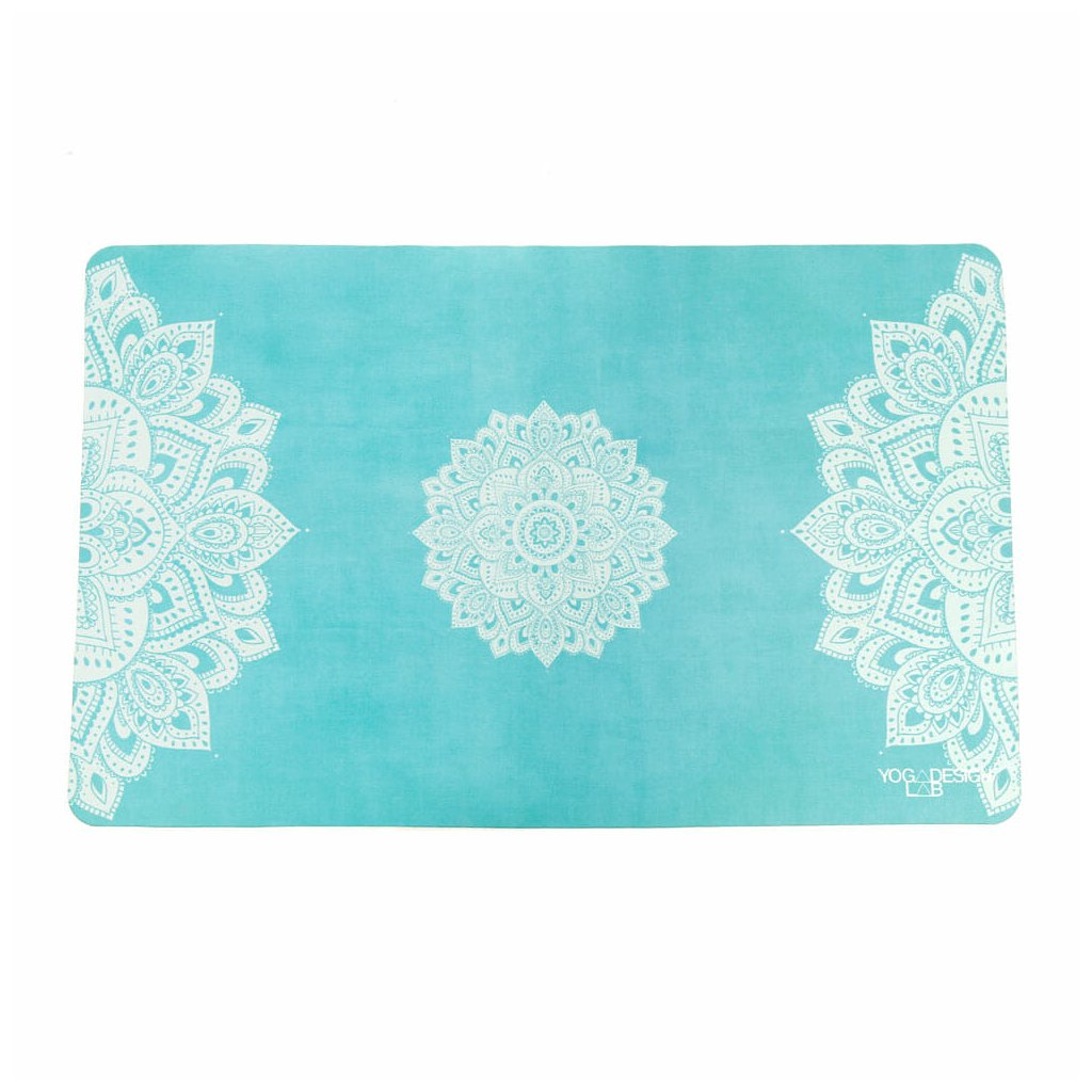 YDL Mandala Turquoise HAND TOWEL unfolded low res 1