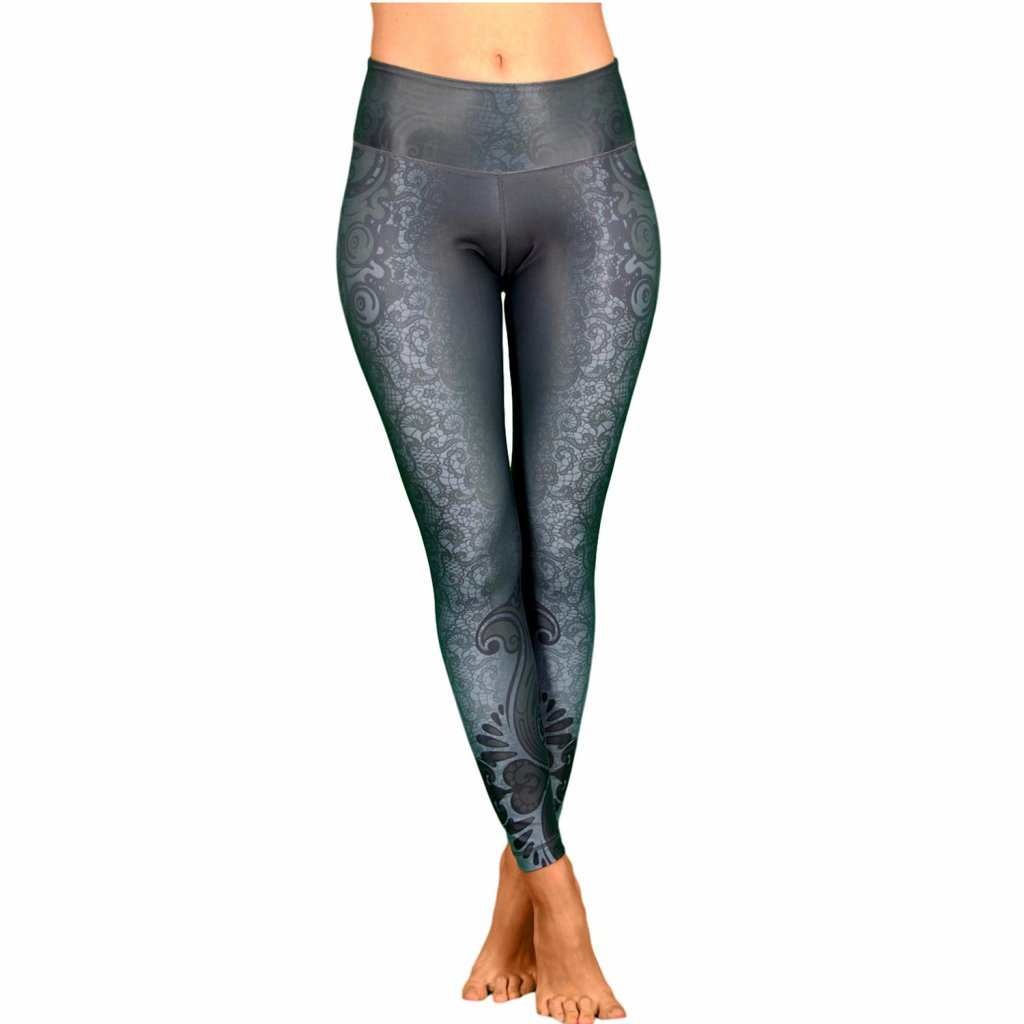 11405hwx yogakleidung niyama leggings maori magic high waist front