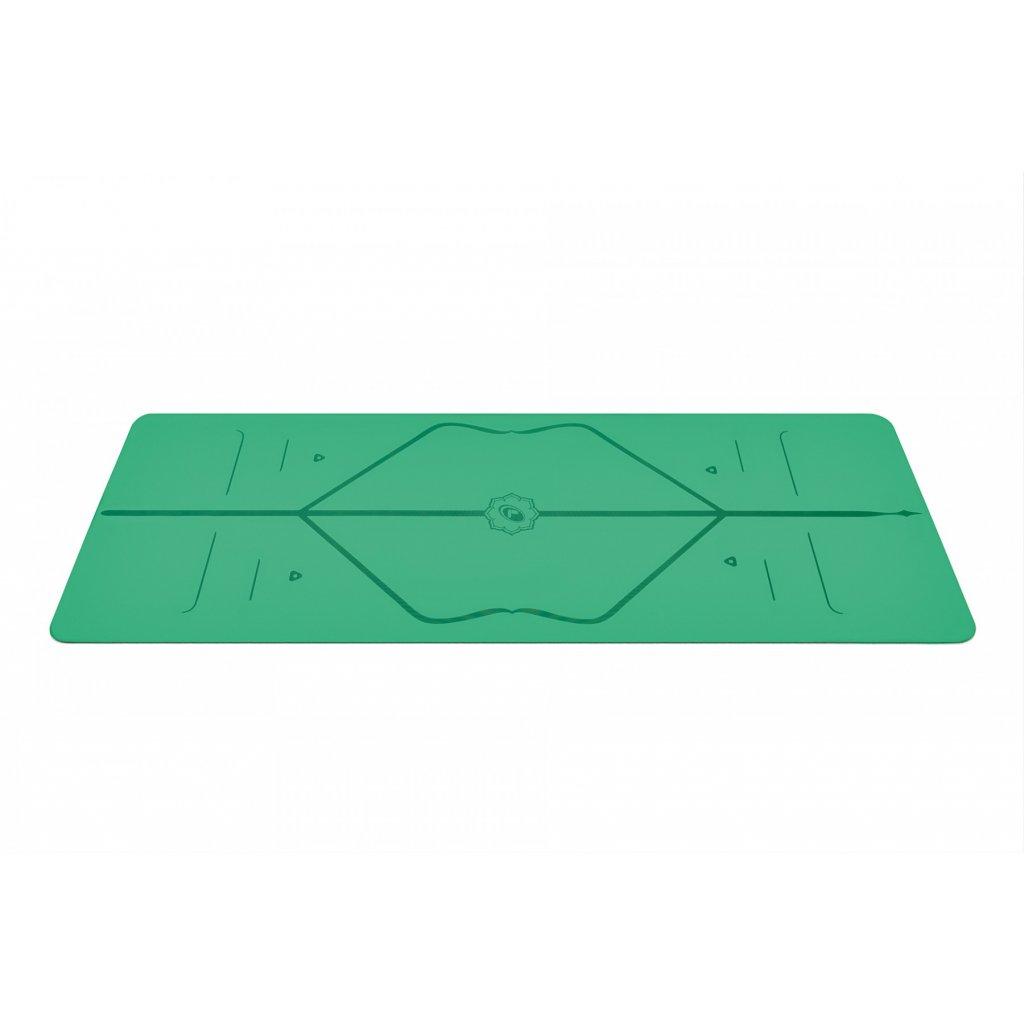 Objedajte si Liforme Yoga Mat  podložka 4 mm (zelená) za 140,00 Dovoz od 75 EUR zdarma, doručenie do 2 dní, 98% spokojnosť, 100 dní na vrátenie. 996/M 2