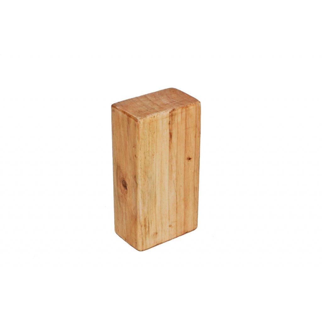 Flexity drevený joga blok štandard 23 x 12 x 7,5 cm