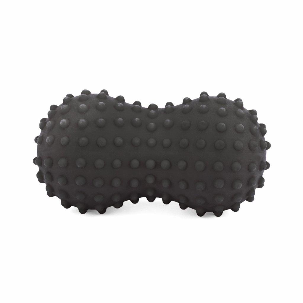 spnb2 pilates fitness spiky peanut massageball anthrazit bodhi