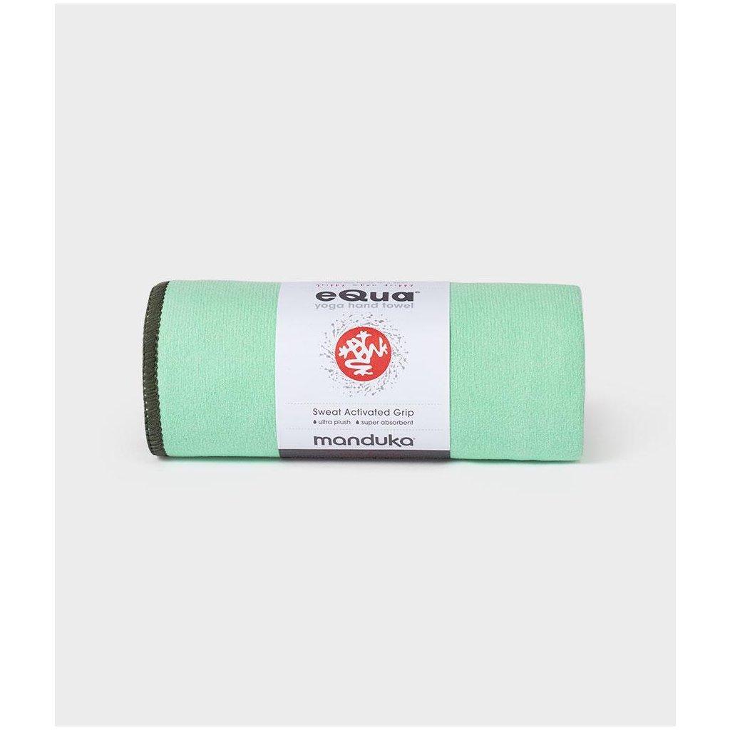 eQua mat 212014343 Towels SS20 Green Ash 01