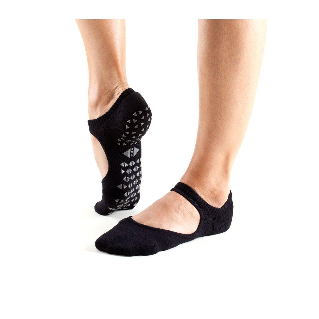 Objedajte si Tavi Noir Grip Socks Chey Ebony protišmykové ponožky otvorené  za 14 5fb553e353
