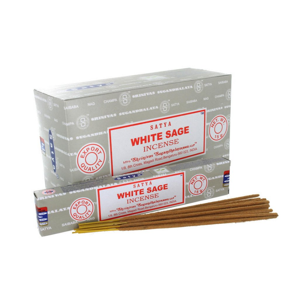 incense sticks satya white sage