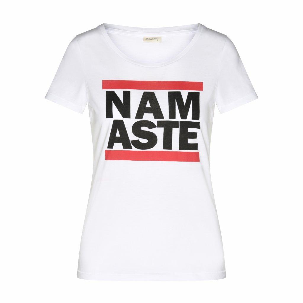 WTRMWx shirt bodhi damen t shirt run namaste white front