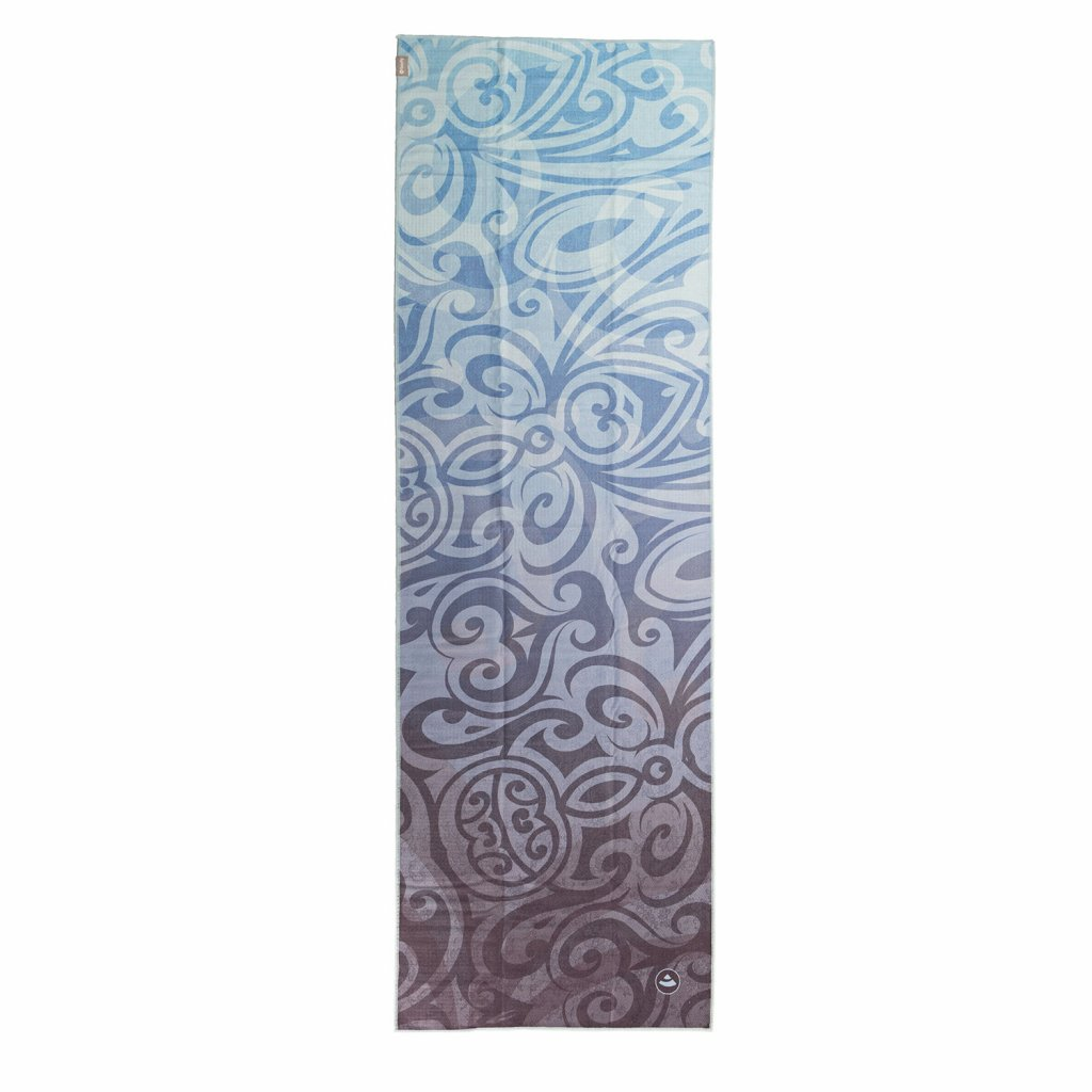 907amm yoga towel art collection maori magic above