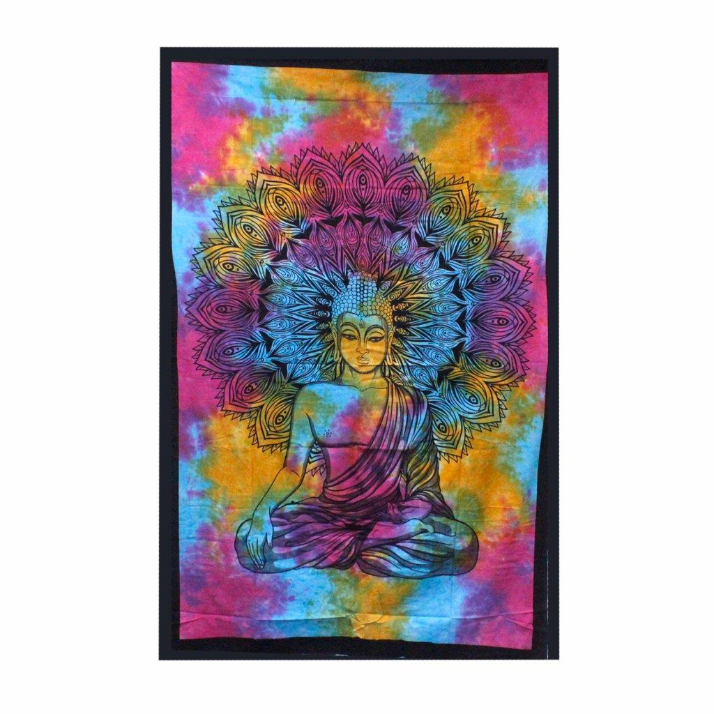 Nástenná plachta/Prikrývka Pokojný Buddha 130 x 200 cm