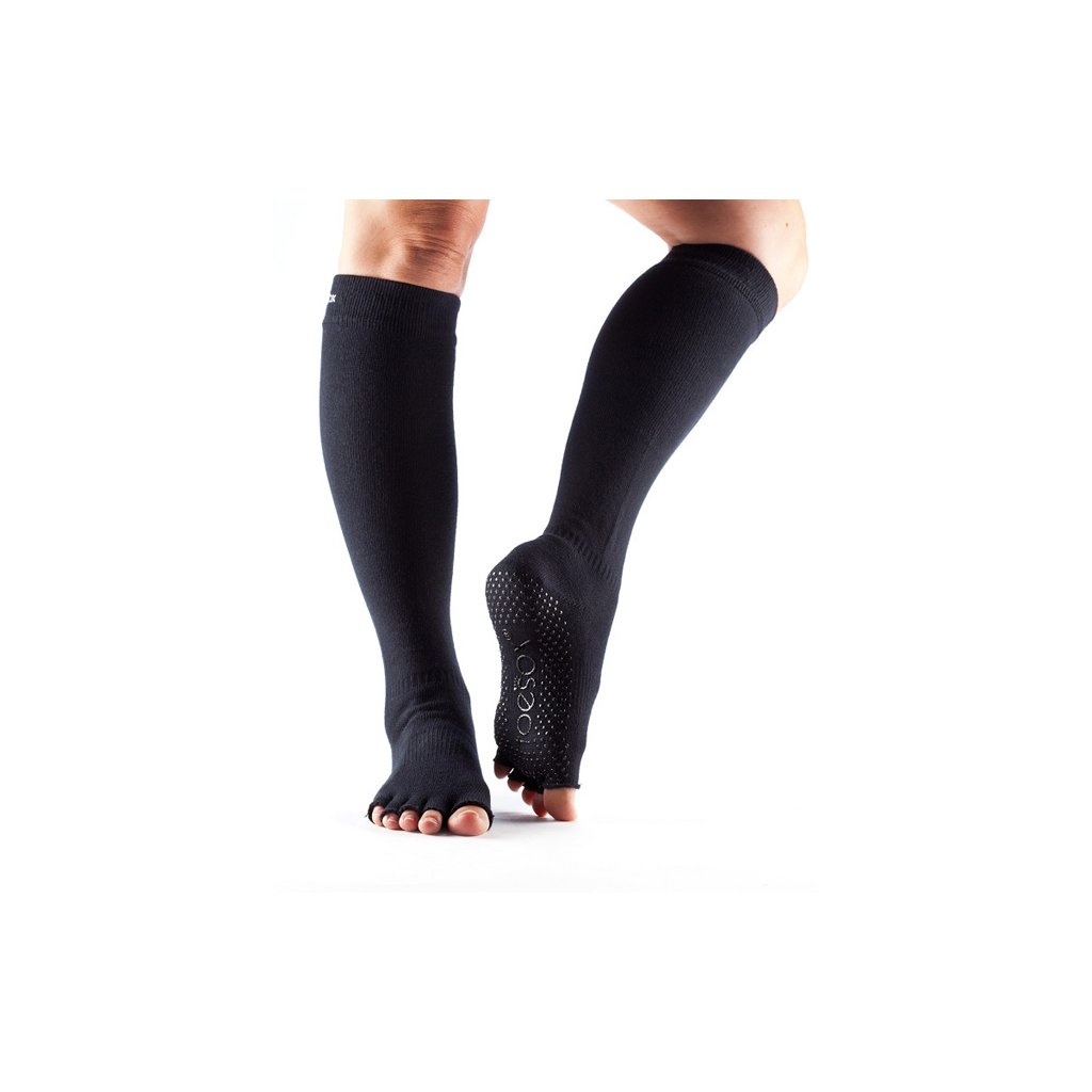 ht scrunch knee high grip black