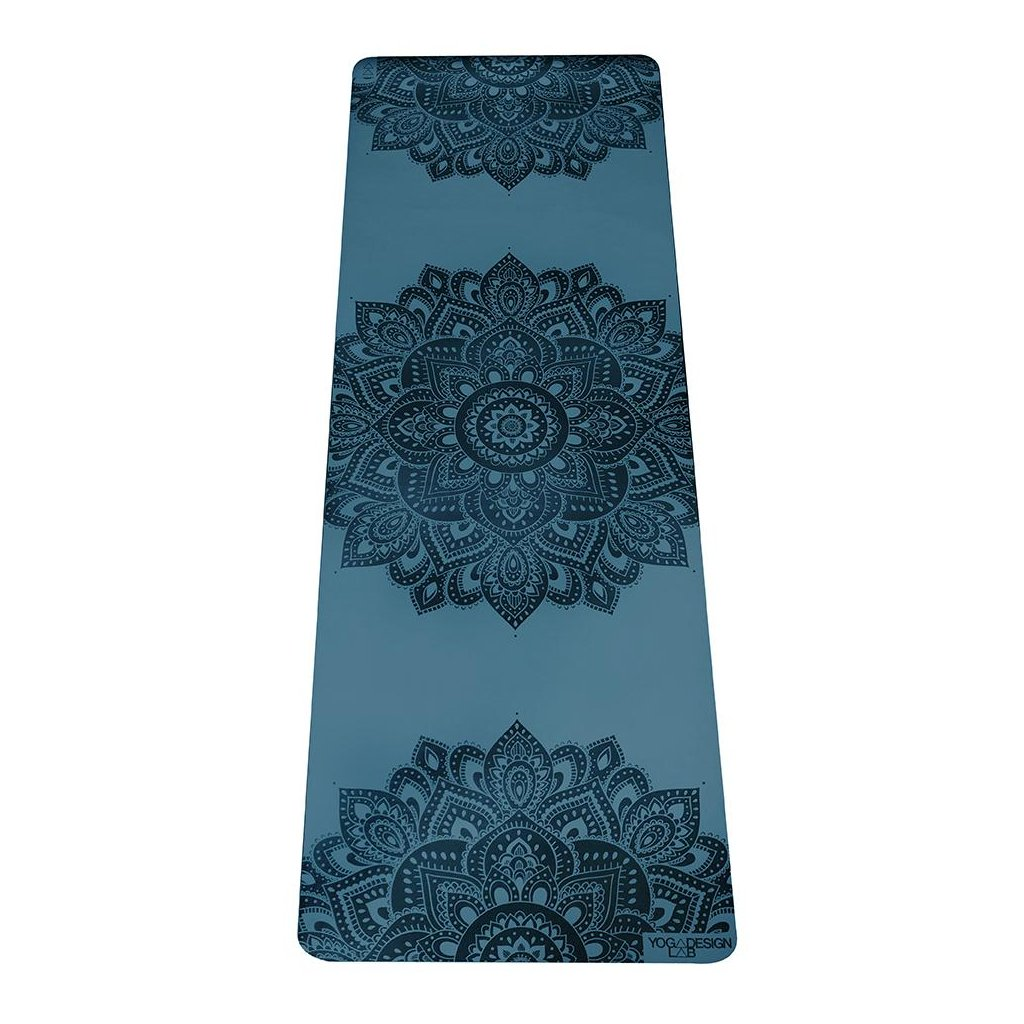 50mm infinity yoga mat mandala teal 6557