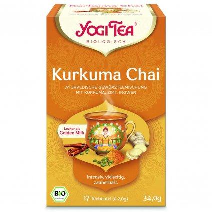 Yogi Tea Kurkuma Chai 1