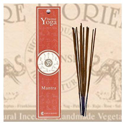 mantra yoga incense fiore d oriente vonne tycinky 12 g