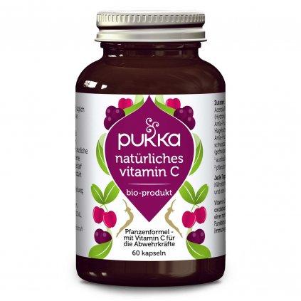 pukka natural vitamin c pukka kapsuly 60 ks prirodny vitamin c 1