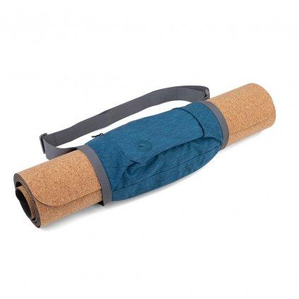 bodhi roll n go mini taska na jogu tmavomodra 35 5 x 25 5 cm