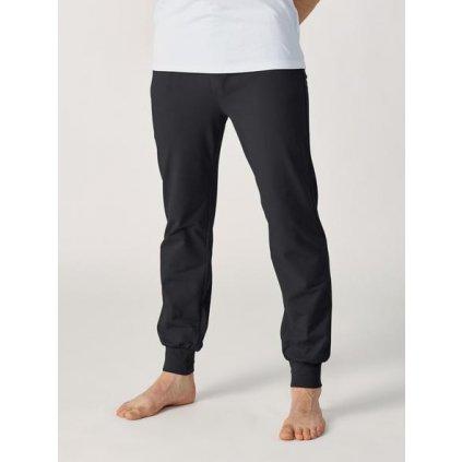 Lotuscrafts Organic Mens Yoga Pant voľné nohavice pre mužov čierne