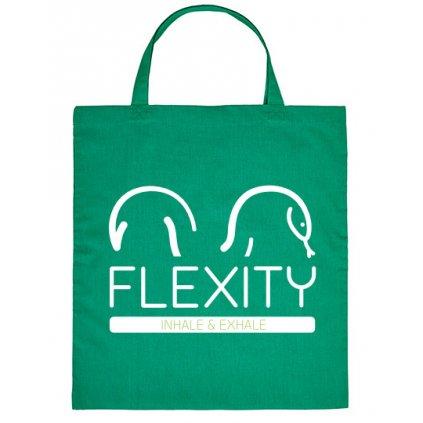 zelena platena taska flexity