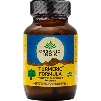 Turmeric Formula kapsuly Organic India