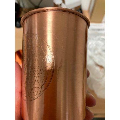 Bodhi medený pohár 250 ml - 2 kusy v balení (2.akost)