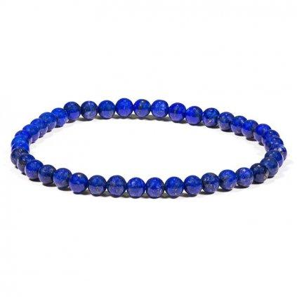 Flexity jednoduchý náramok Lapis Lazuli 4 mm