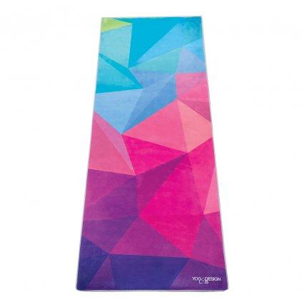 Yoga Design Lab Mat Towel Geo uterák na podložku 183 x 61 cm za 41,99 Dovoz od 75 EUR zdarma, doručenie do 2 dní, 98% spokojnosť, 100 dní na vrátenie.  1