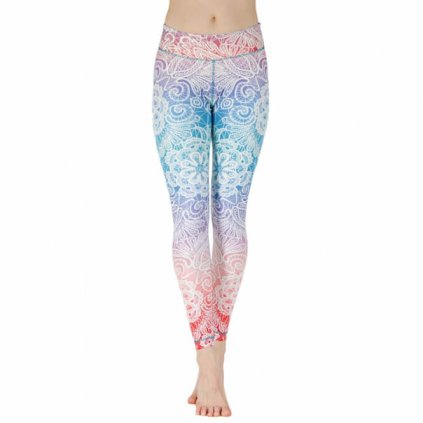 NLSSCx yoga niyama leggins yogahose sweet summer child front