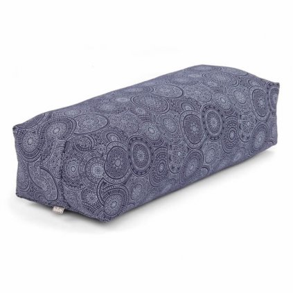 986mb yoga maharaja collection salamba bolster gemustert rauchblau