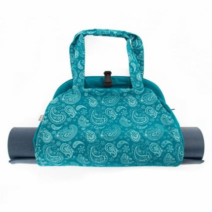 544pp yoga maharaja collection yogatasche namaste bag paisley petrol liegend