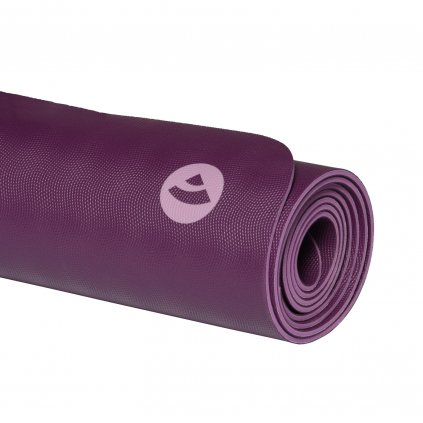 659r yoga naturkautschuk yogamatte ecopro diamond liegend kaminrot