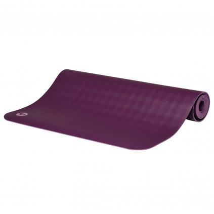 657g yoga naturkautschuk yogamatte ecopro travel schilfgruen gefalten