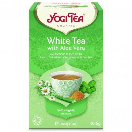 Yogi Tea White Tea Aloe Vera Biely čaj s aloe vera 17 x 1,8 g