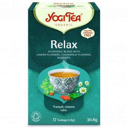 Yogi Tea Relax ajurvédsky bylinný čaj 17 x 1,8 g