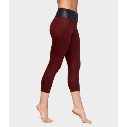 Manduka Essential Cropped Legging Ruby Sheen legíny