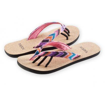 Toesox 5 prstové sandále Maya Sandal (Fiesta)