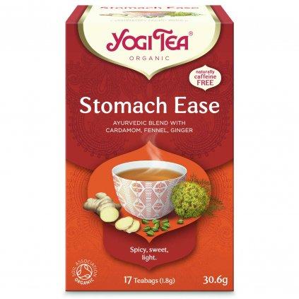 Yogi Tea Stomach ease (na trávenie) – Ajurvédsky bylinný čaj porciovaný BIO 17 × 1,8 g