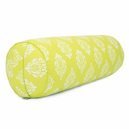 984lo yoga maharaja collection yoga bolster gemustert 65 x 23 shimla limone