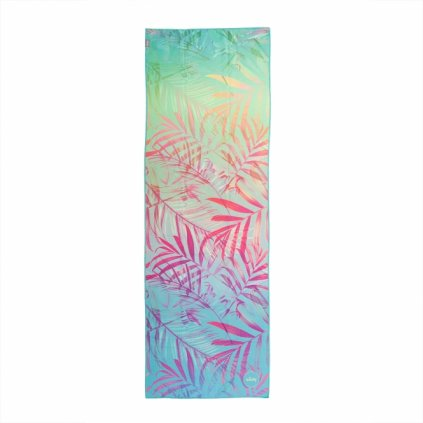 907ajf yoga yogatuch grip towel art collection jungle fever bunt