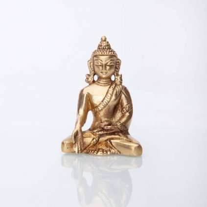 bud8 meditation buddah statue messing