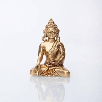 bud8 meditation buddah statue messing