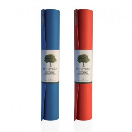 371x yoga yogamatte jade two tones slate blue midnight blue chilli pepper red sedona red rolle