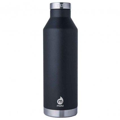 mizu v8 black vacuum bottle termoska