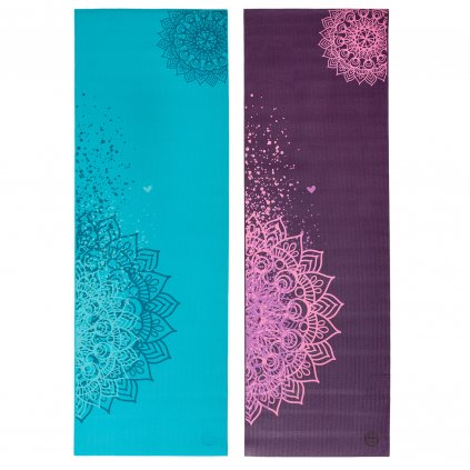 896m2p yoga design yogamatte mandala zweifarbig the leela collection
