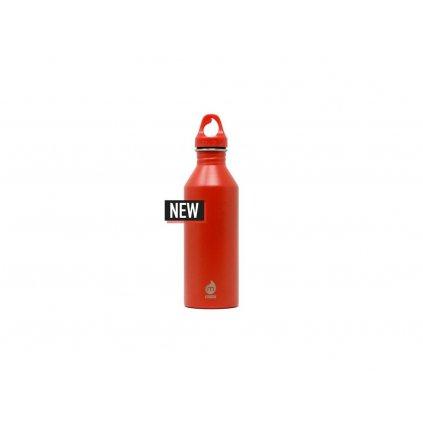 MIZU Bottle M8 fľaša 750 ml. oranžovo-červená