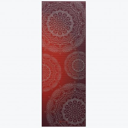 05 63417 6MM METALLIC YOGA MAT METALLIC SUNSET B